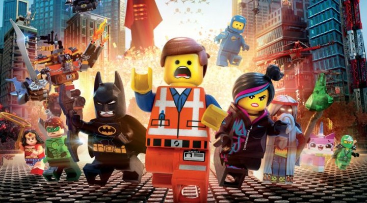 The Lego Movie 2014 celebrated with online games