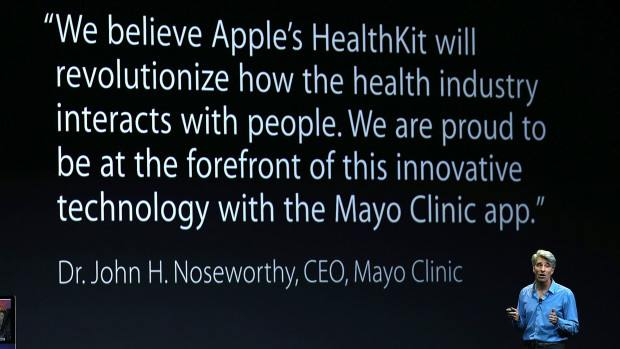 The Mayo Clinic iPad, iPhone