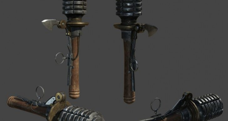 The Order: 1886 weapons in replica form