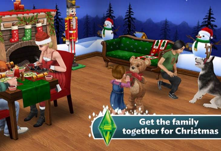 The Sims FreePlay update teases Great Xmas Mishap Quest