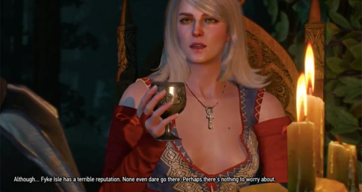 All The Witcher 3 romance scenes