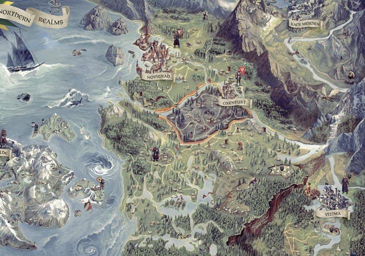The Witcher 3 Map Size By City  Vizima To Novigrad