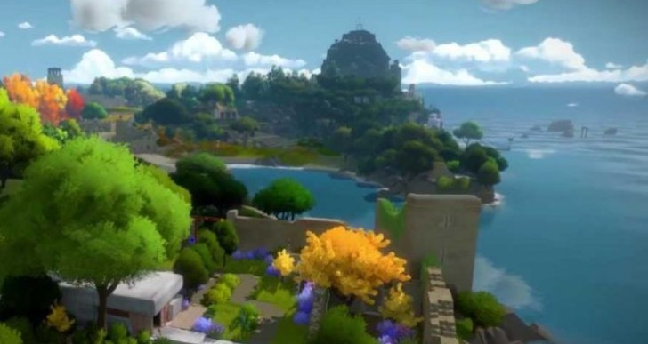 The Witness game accumulates new screens