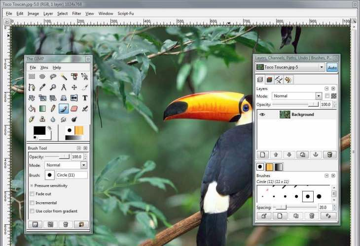The best free PhotoShop alternative is Gimpshop