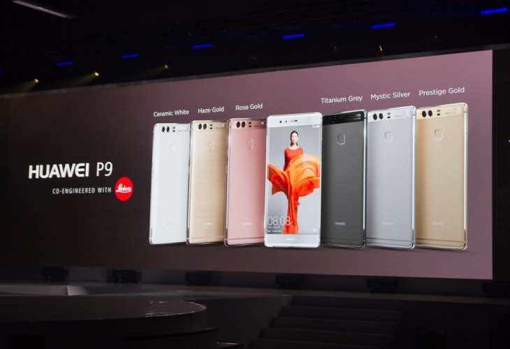 Three Huawei P9 variants