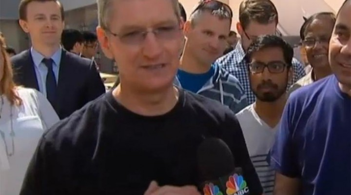 Tim Cook on Apple Watch pre-order launch
