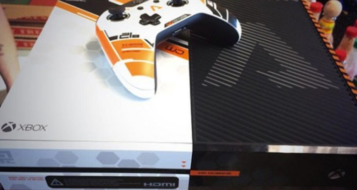 Titanfall Xbox One system is not for retail, yet