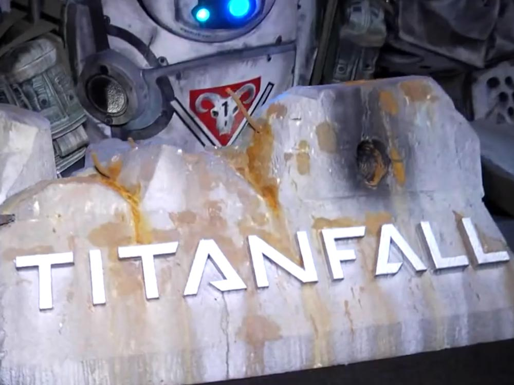 Titanfall during PAX Prime with gameplay