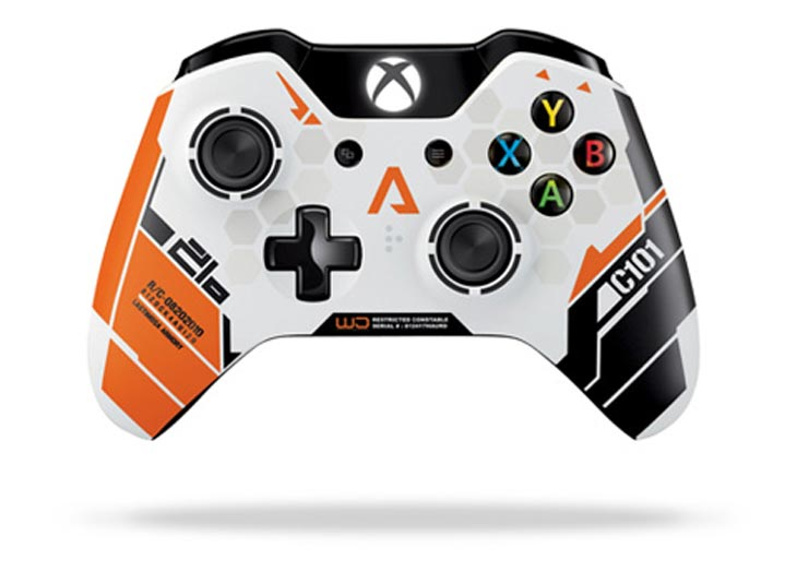 Titanfall-gains-limited-edition-Xbox-One-controller
