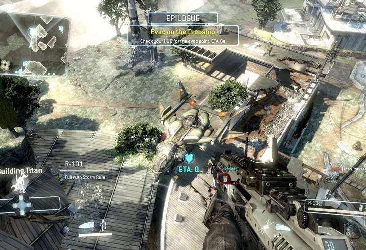 Titanfall no Call of Duty Ghosts slayer, more a stopgap
