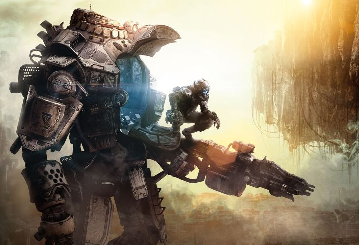 Titanfall pilot and Titan