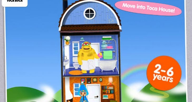 Toca House app review, Android has Builders