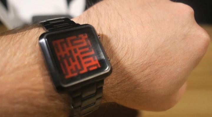 Tokyoflash Maze watch hands-on