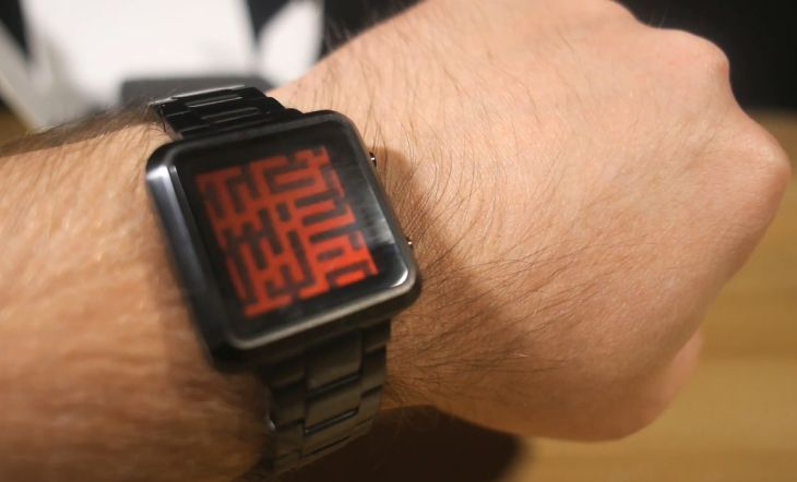 Tokyoflash Maze watch hands-on