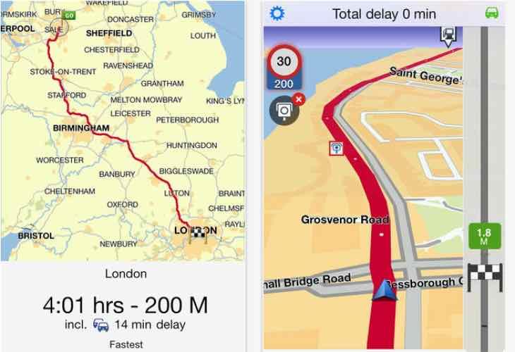 TomTom Europe app update