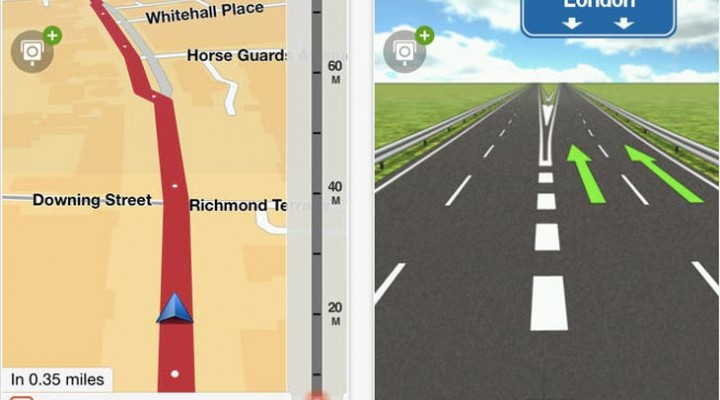 TomTom app update for iOS 8 and iPhone 6 Plus