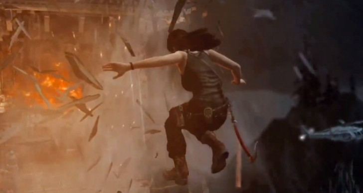 Tomb Raider: Definitive Edition Xbox One gameplay at 1080p