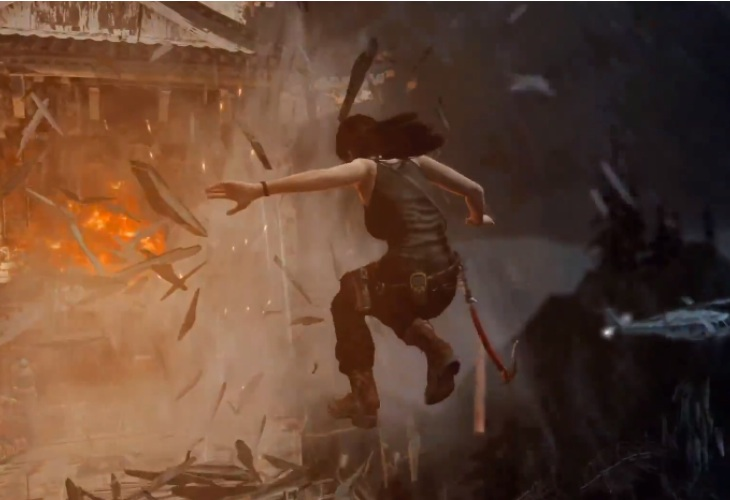 Tomb Raider- Definitive Edition Xbox One gameplay at 1080p