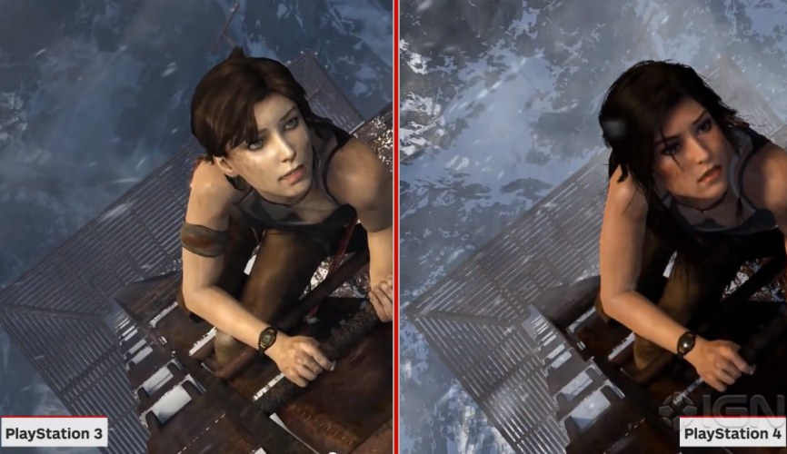 Tomb Raider- Definitive PS4 vs. PS3 graphical differences