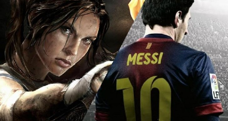 Tomb Raider: Definitive Edition crash, FIFA 14 glory
