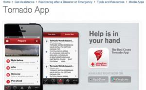 Tornado weather alert app increases survival