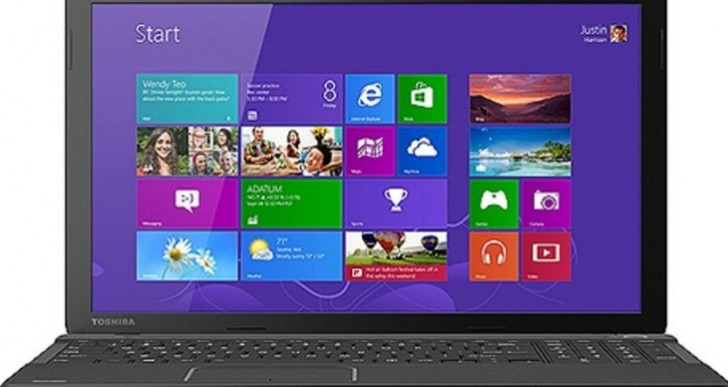 Toshiba C55-A5285 specs includes Intel Core i3-3120M processor