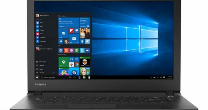 Toshiba CL45-C4332 14-inch Touchscreen notebook specs