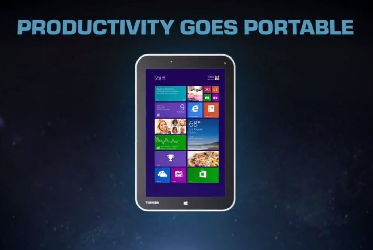 Toshiba Encore offers alternative Windows 8.1 tablet