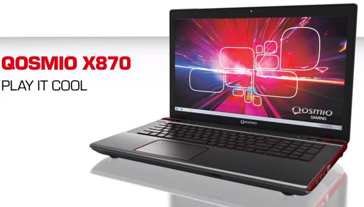 Toshiba Qosmio X870 laptop