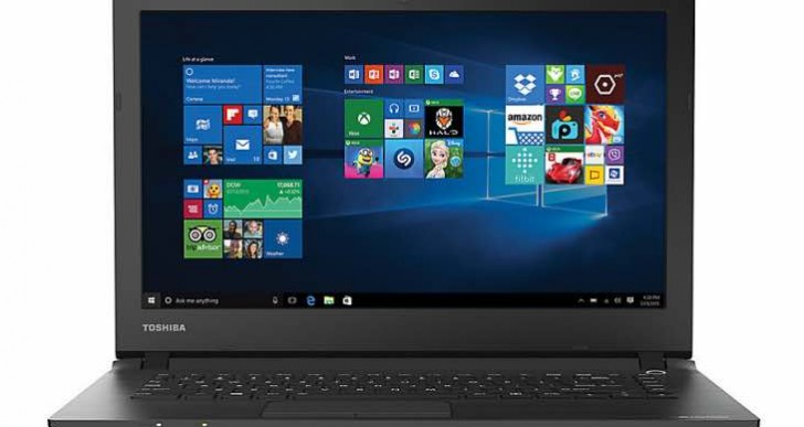 Toshiba Satellite CL45-C4370 specs are mediocre