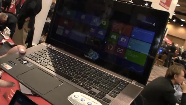 Toshiba embraces Windows 8, merges computers and tablets