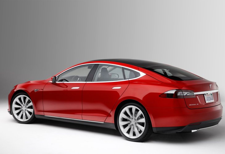 Total Quality Index award for Tesla Model S