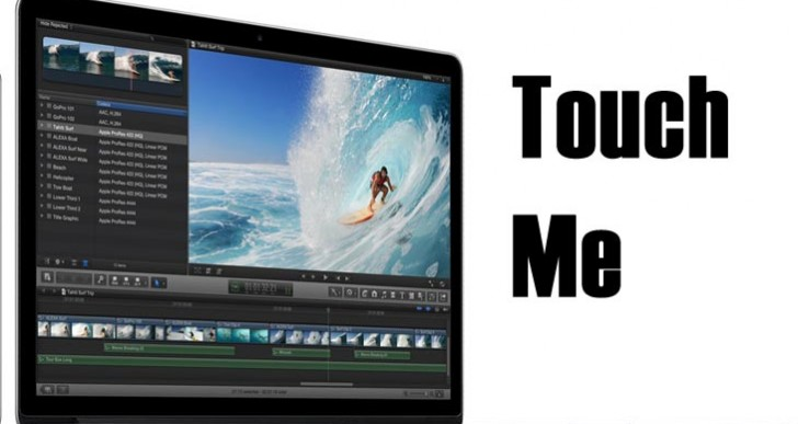 Touch twist with MacBook Pro 2014