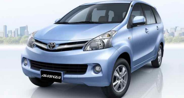 Toyota Avanza changes for the 2016 model