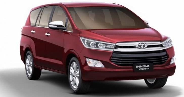 Toyota Innova Crysta petrol deliveries start next month