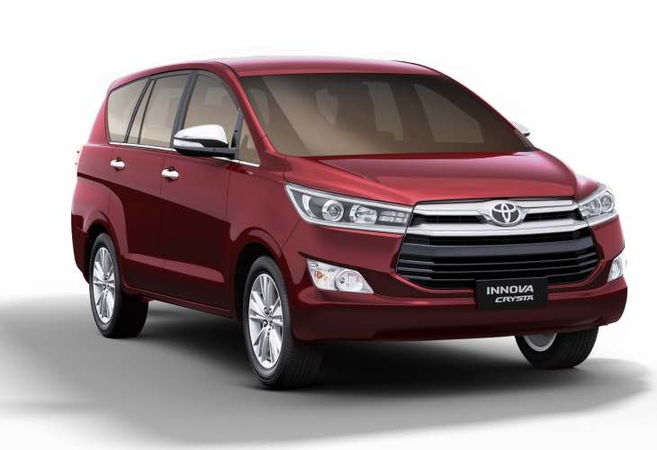 Toyota Innova Crysta petrol deliveries