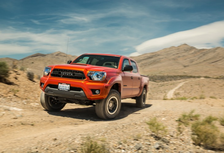 Toyota Tacoma 2015 redesign in photos 1