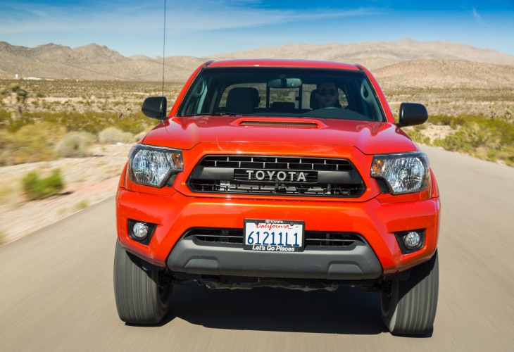 Toyota Tacoma 2015 redesign in photos 4