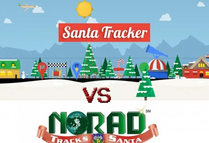 Track-Santa-with-Norad-Vs-Google-start-time