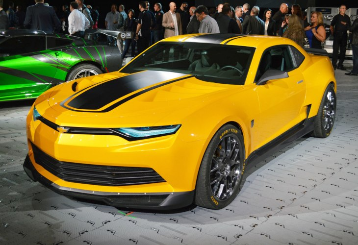 Transformers 4 Bumblebee Camaro Sneak Peak At Sema