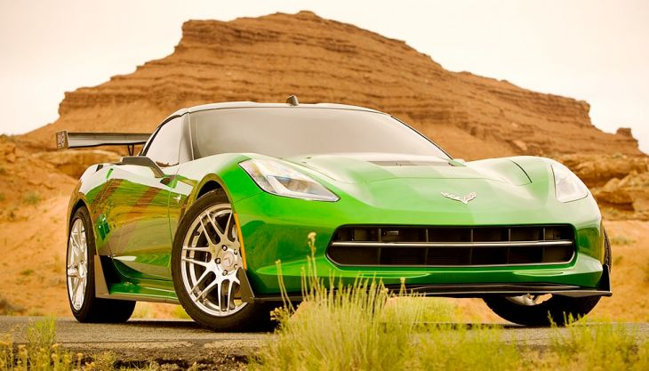 Transformers 4 includes C7 Corvette Stingray