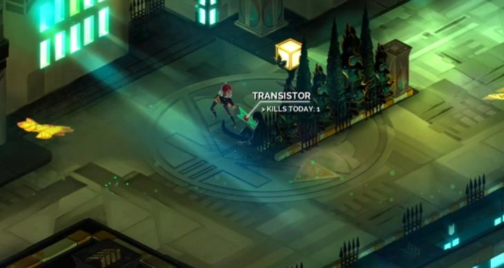 Transistor PS4 gameplay from start