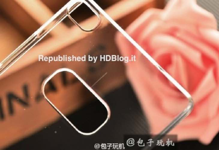 Translucent Huawei P8 case reveals thinness