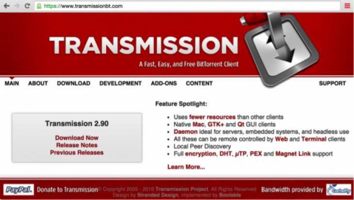 Transmission update 2.92