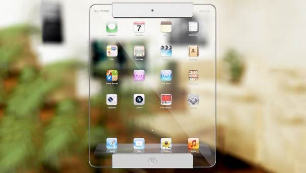 Transparent iPad conception visual gains criticism