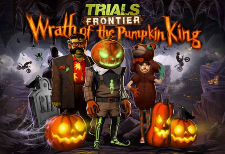 Trials Frontier app sees Halloween update