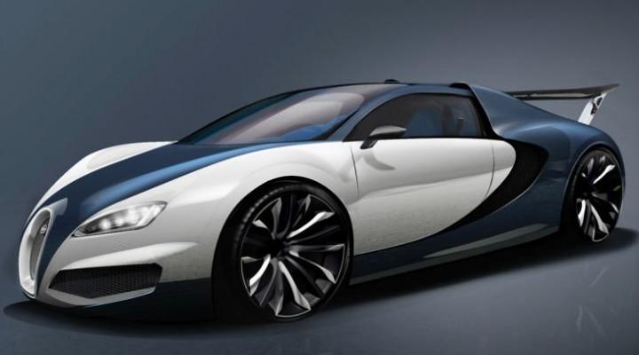 Trio of Bugatti Veyron successor development concepts