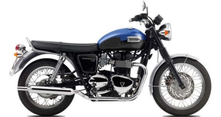 Triumph Bonneville T100 expected price in India, not Black variant