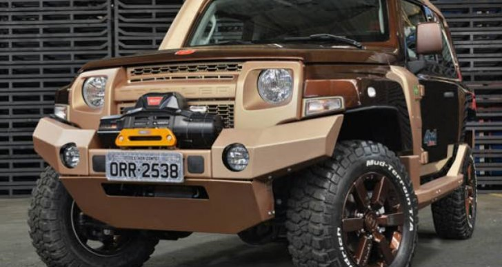 Official Troller T4 reignites Ford Bronco release desire