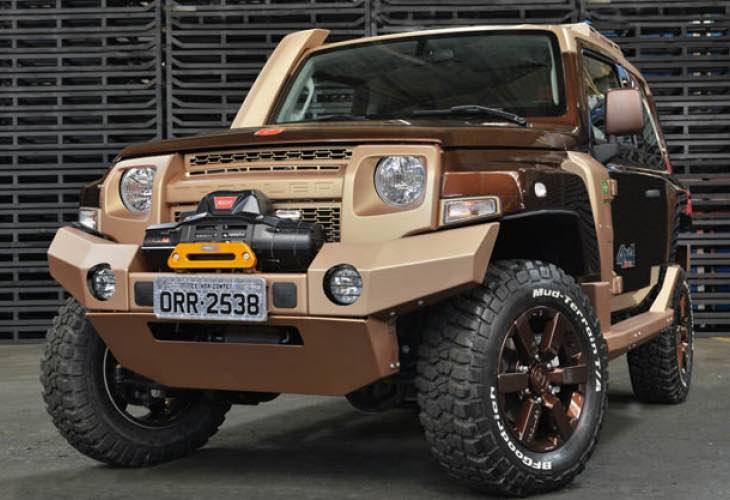 Troller T4 desired as Ford Bronco release candidate